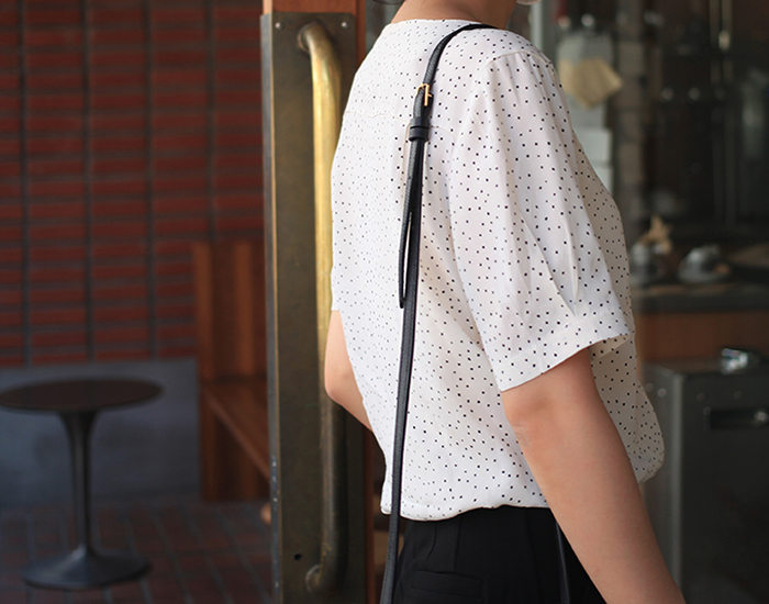 verci dot blouse
