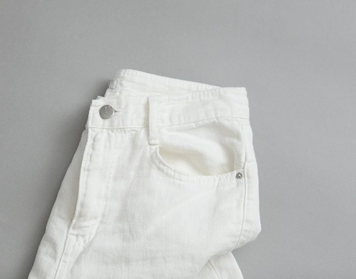 cotton ivory pants